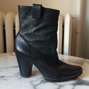 Via Spiga calfskin midcalf heeled boots 7